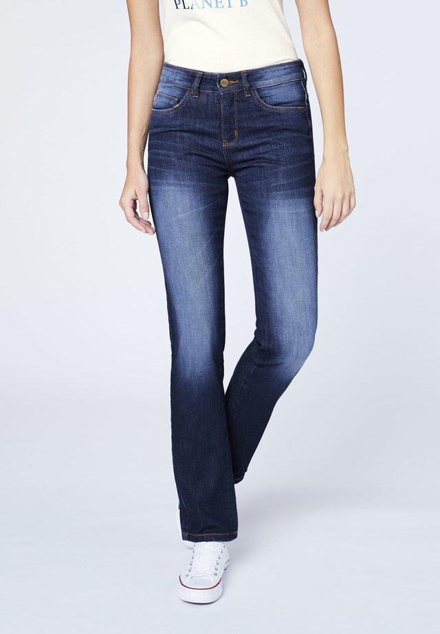 Straight leg jeans - mid night