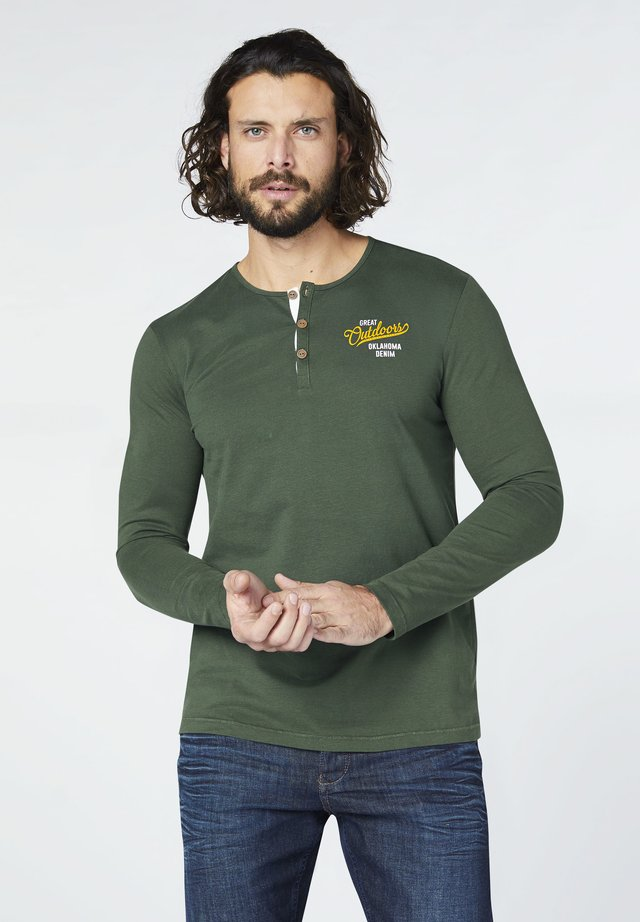 Long sleeved top - deep forest
