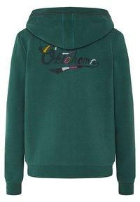 Oklahoma Premium - MIT GROSSEM RÜCKENPRINT  - Zip-up hoodie - bayberry - 1