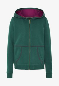 Oklahoma Premium - MIT GROSSEM RÜCKENPRINT  - Zip-up hoodie - bayberry - 0