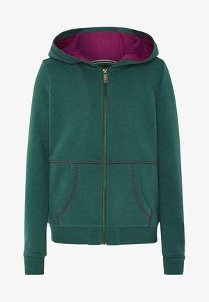 MIT GROSSEM RÜCKENPRINT  - Zip-up hoodie - bayberry