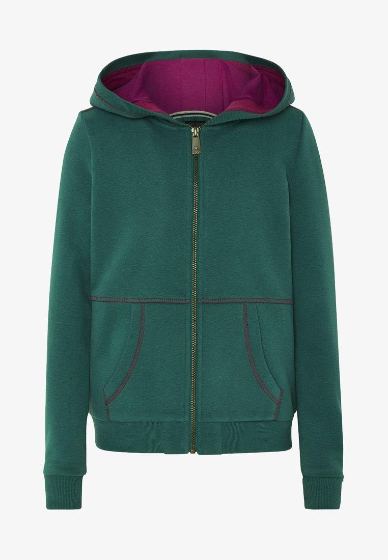 Oklahoma Premium - MIT GROSSEM RÜCKENPRINT  - Zip-up hoodie - bayberry