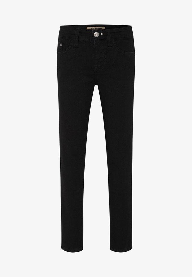 MIT EINER LEICHTEN WASCH - Slim fit jeans - black