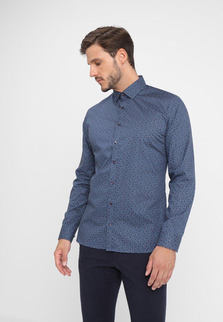 OLYMP No. Six - SUPER SLIM FIT - Camicia - dark blue