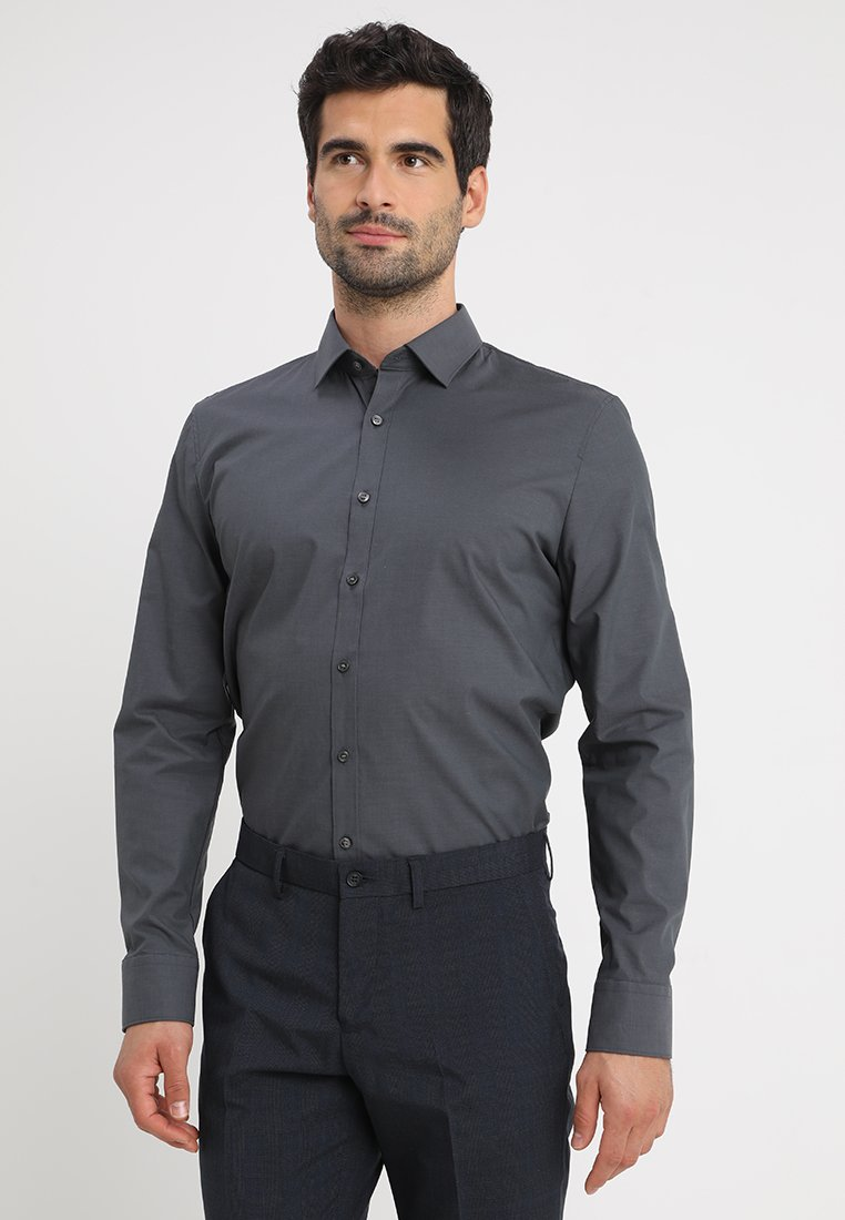 OLYMP No. Six - SUPER SLIM FIT - Formal shirt - anthrazit