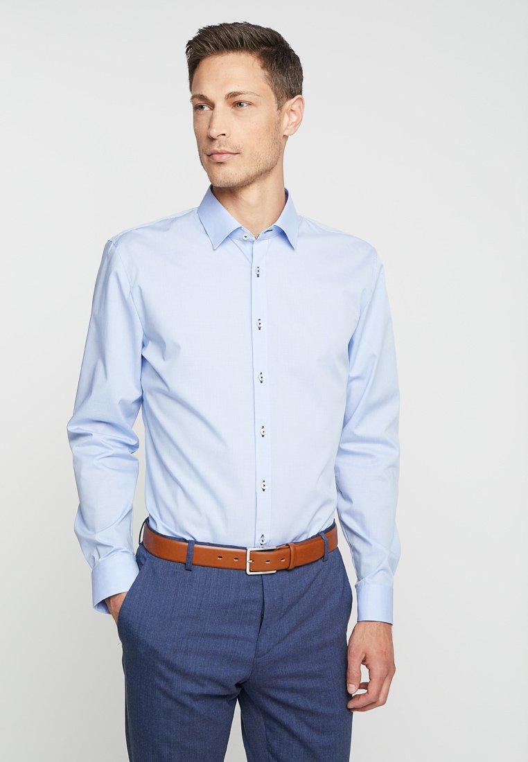 OLYMP - SUPER SLIM FIT - Koszula biznesowa - bleu