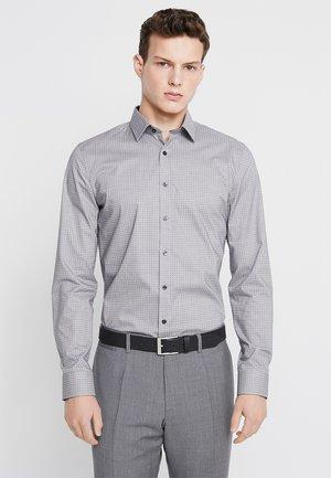 SUPER SLIM FIT - Formal shirt - black