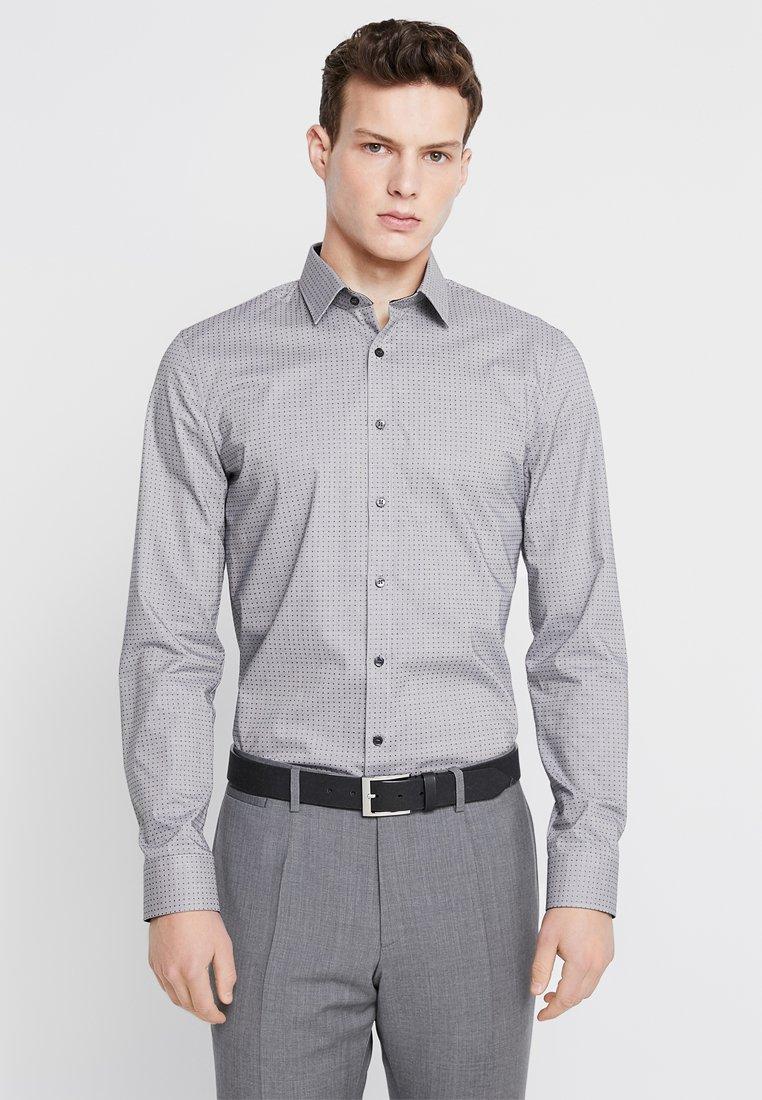 OLYMP - OLYMP NO.6 SUPER SLIM FIT - Koszula biznesowa - black