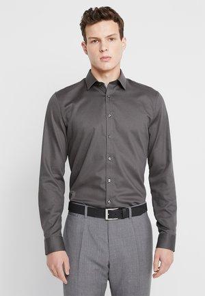 SUPER SLIM FIT - Formal shirt - greygreen