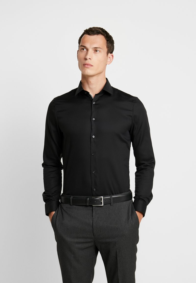 OLYMP - SUPER SLIM FIT - Formal shirt - black