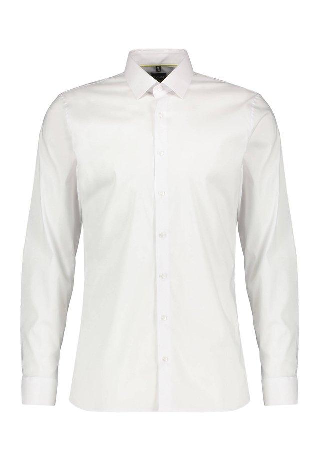 OLYMP NO. SIX HERREN HEMD SUPER SLIM FIT LANGARM - Formal shirt - weiss (10)
