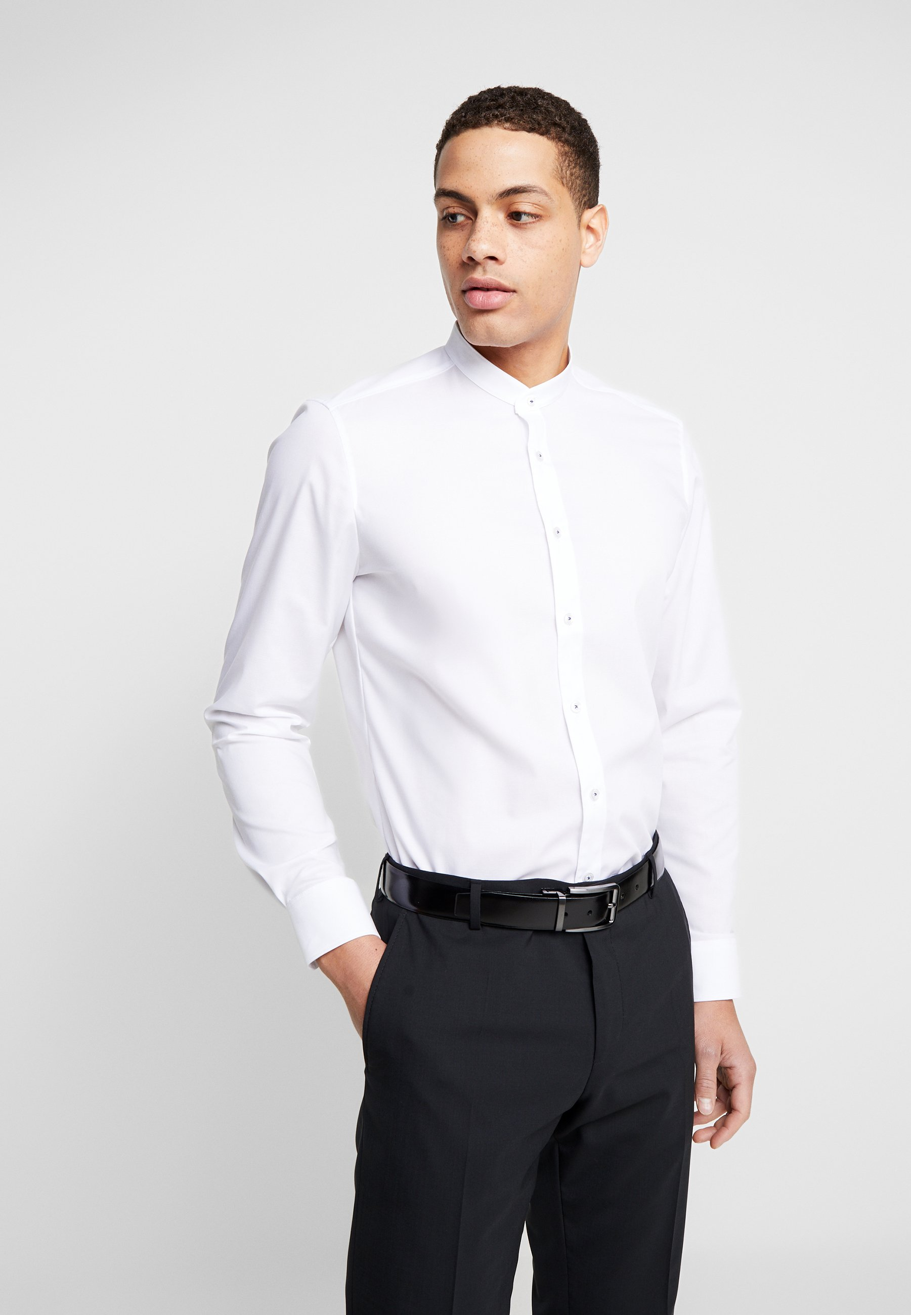 OLYMP OLYMP LEVEL 5 BODY FIT - Koszula - white