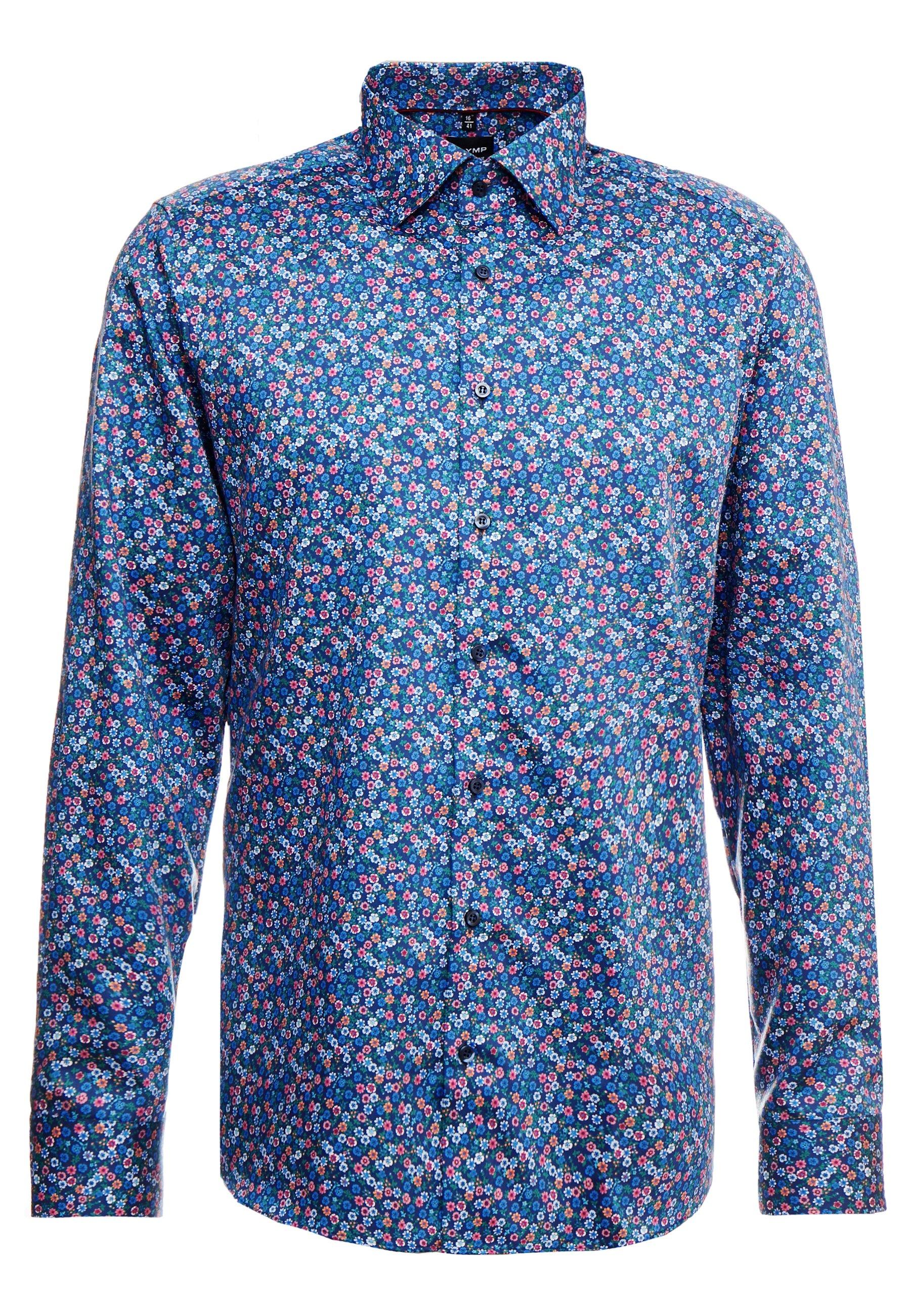 Olymp Level 5 Body Fit - Kostymskjorta Blue