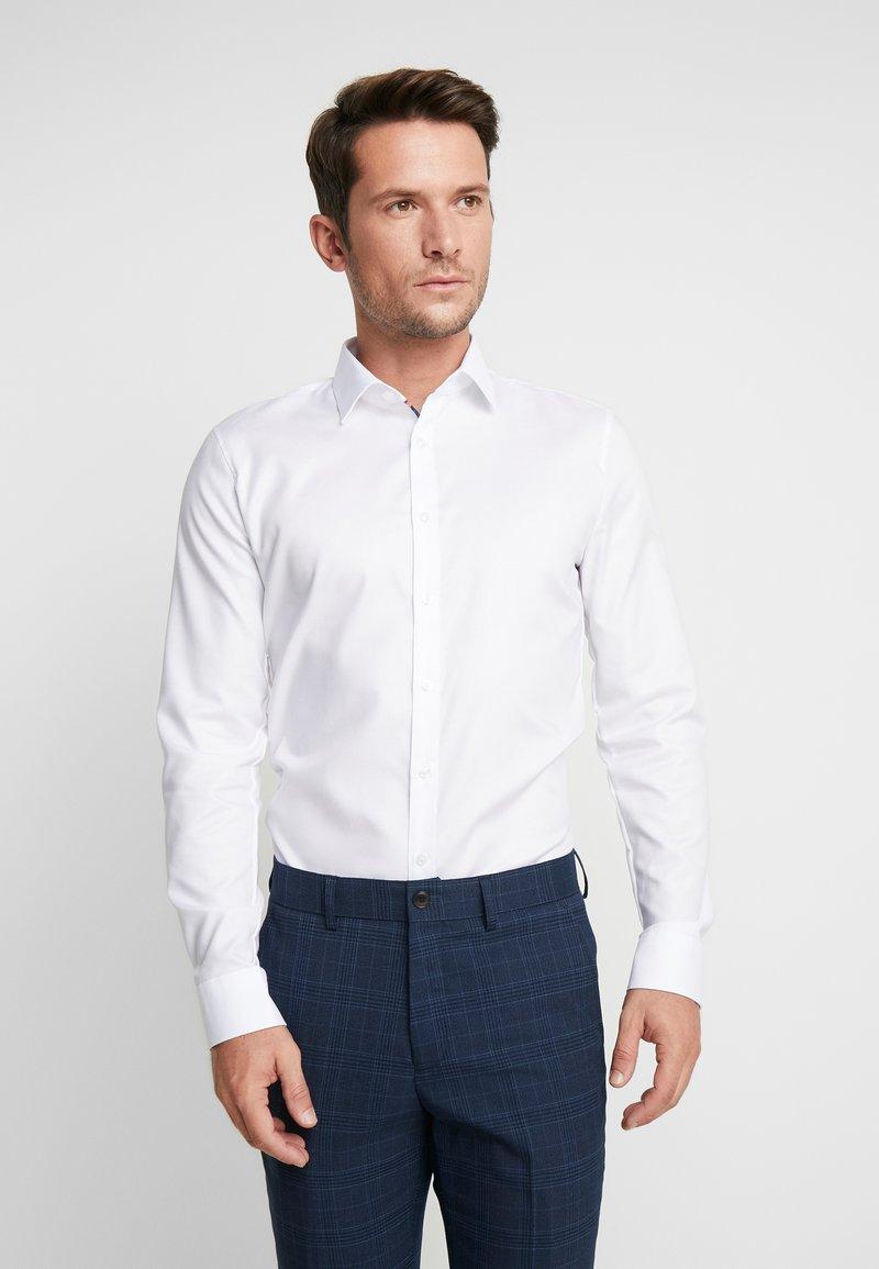 OLYMP - OLYMP NO.6 SUPER SLIM FIT  - Koszula biznesowa - weiss