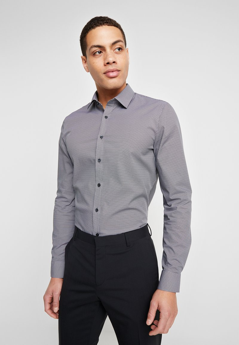 OLYMP - OLYMP NO.6 SUPER SLIM FIT  - Camicia elegante - schwarz