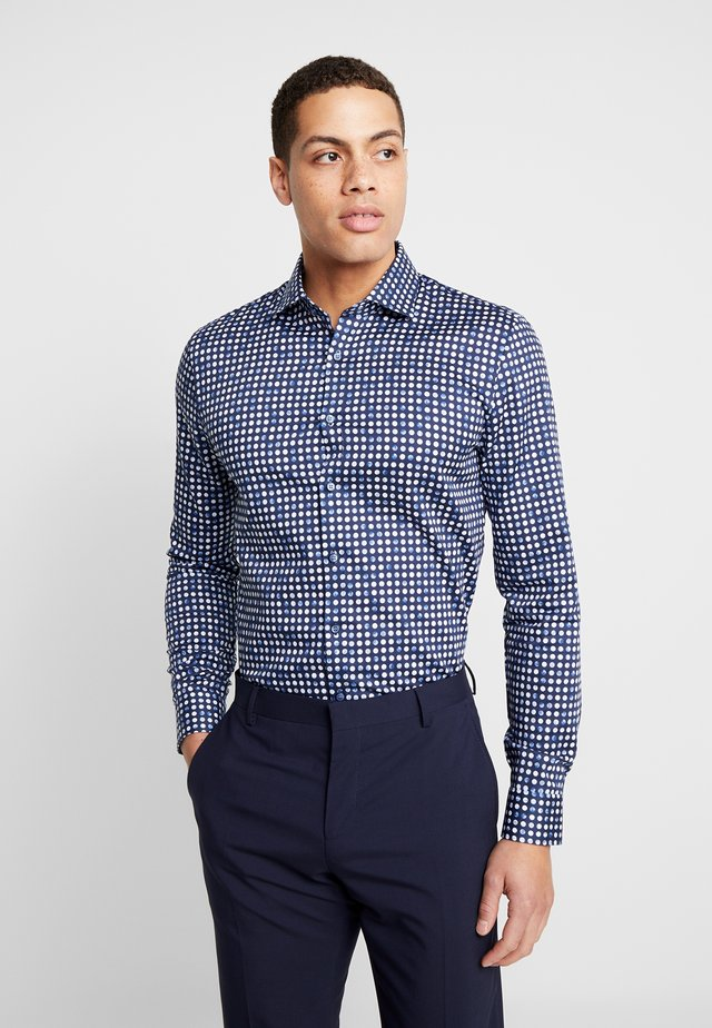 OLYMP NO.6 SUPER SLIM FIT  - Koszula - marine