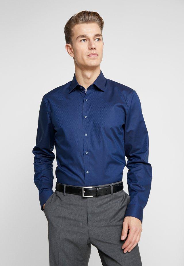 OLYMP NO.6 SUPER SLIM FIT  - Zakelijk overhemd - marine