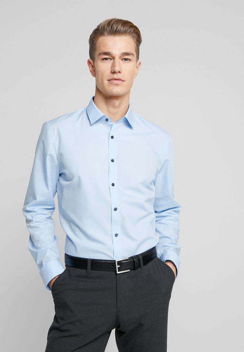 OLYMP - OLYMP NO.6 SUPER SLIM FIT  - Formální košile - blue