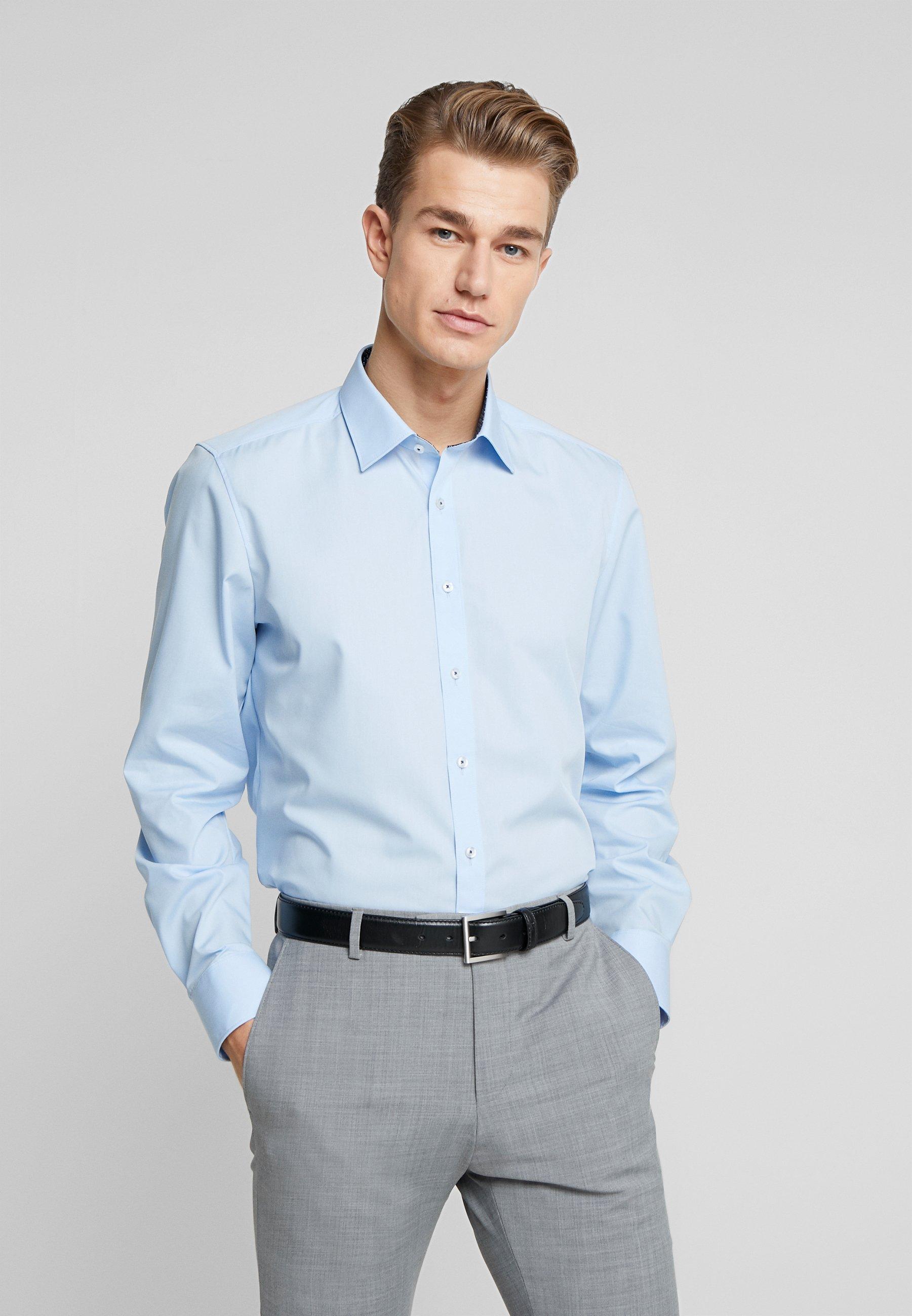 OLYMP OLYMP LEVEL 5 BODY FIT  - Koszula biznesowa - blue
