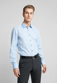 OLYMP - OLYMP LEVEL 5 BODY FIT  - Zakelijk overhemd - blue - 0