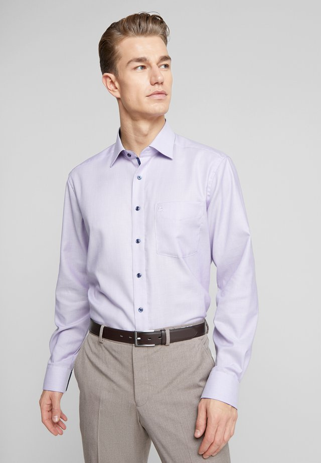 OLYMP LUXOR MODERN FIT - Formal shirt - purple