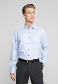 OLYMP - OLYMP LUXOR MODERN FIT - Formální košile - bleu - 0