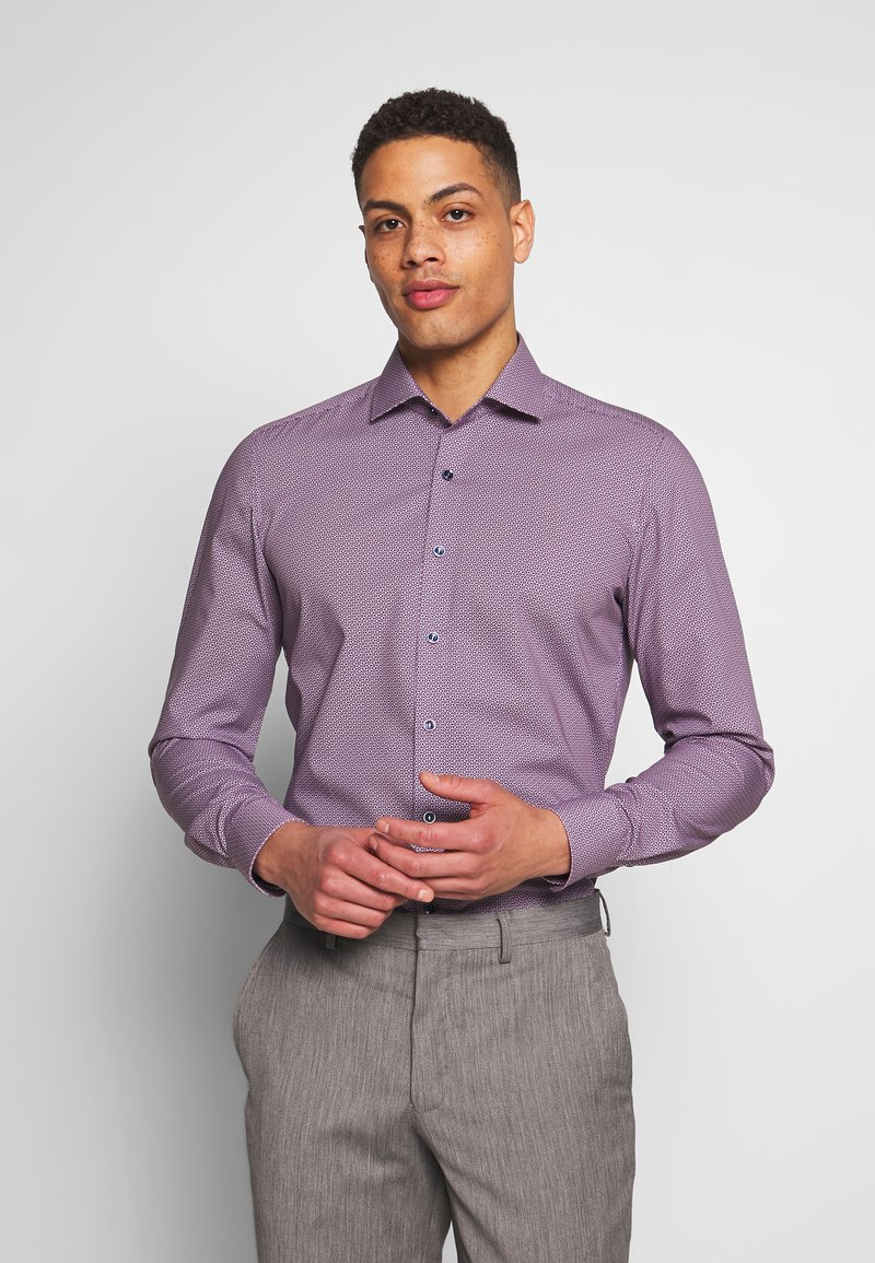 OLYMP - OLYMP LEVEL 5 BODY FIT  - Camicia - rose