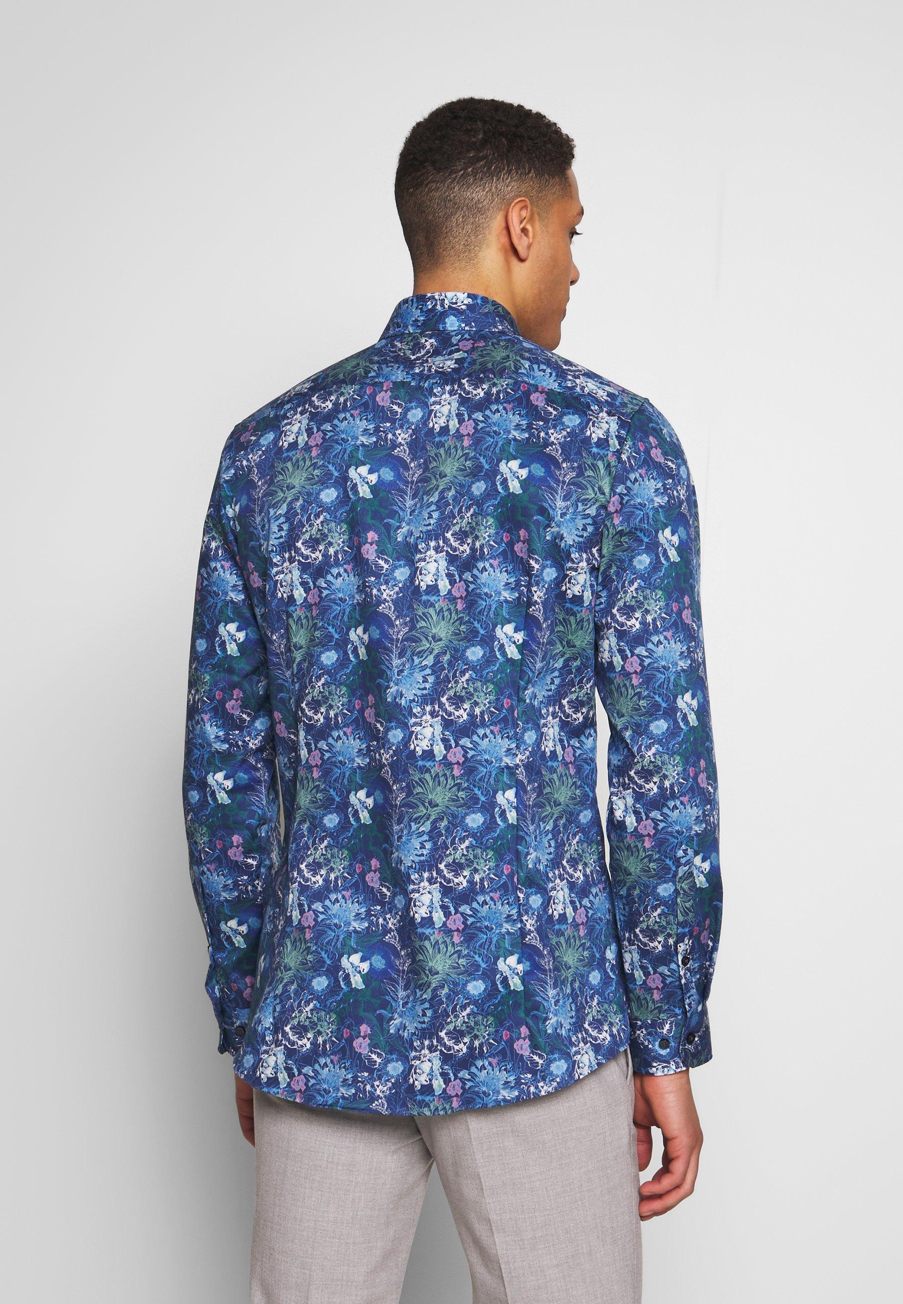 OLYMP OLYMP NO.6 SUPER SLIM FIT - Formal shirt - marine