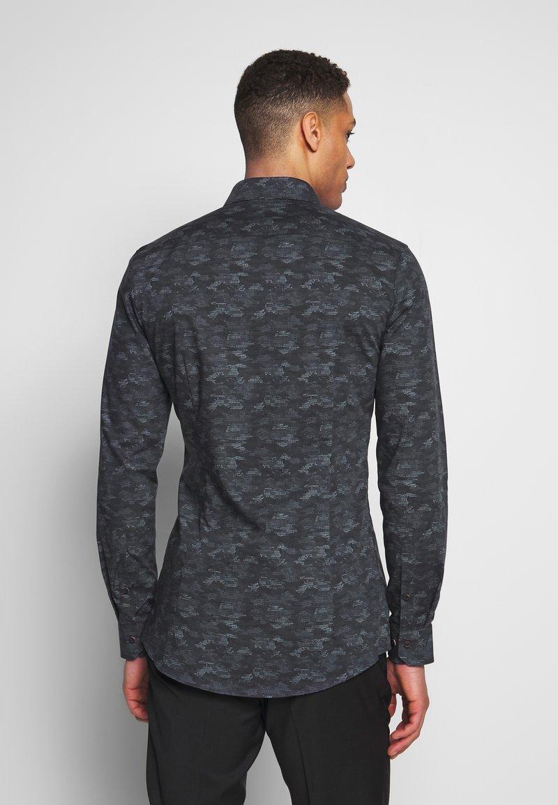 OLYMP - OLYMP NO.6 SUPER SLIM FIT  - Formální košile - schwarz