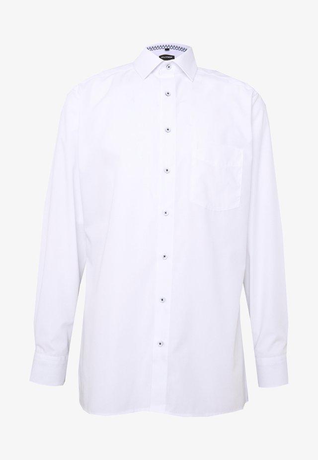 OLYMP LUXOR COMFORT FIT - Koszula biznesowa - weiss