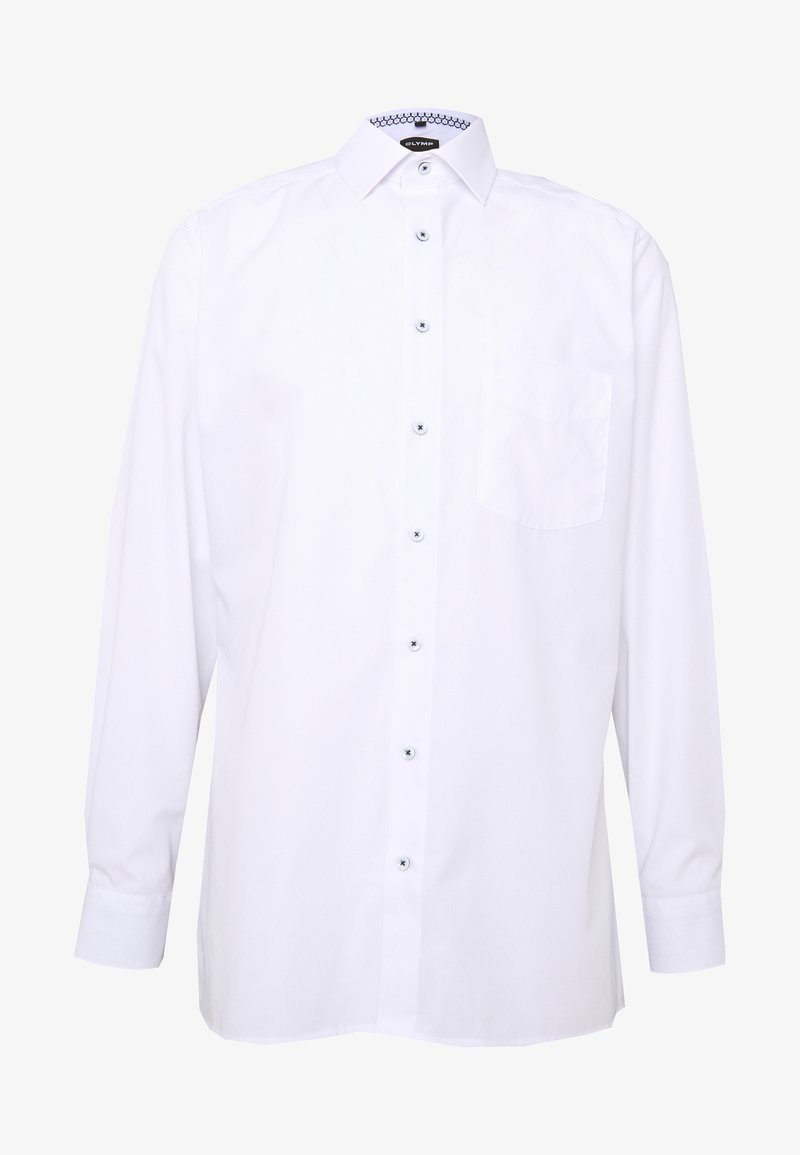 OLYMP - OLYMP LUXOR COMFORT FIT - Camicia elegante - weiss