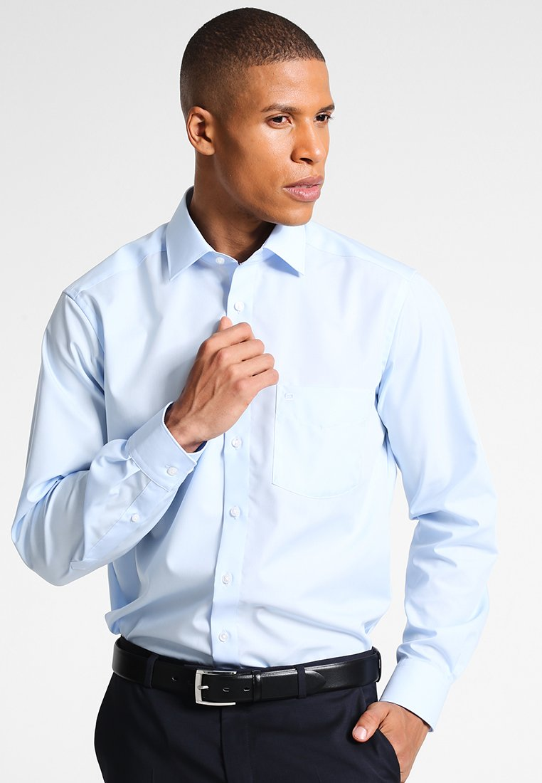 OLYMP - REGULAR FIT - Shirt - hellblau