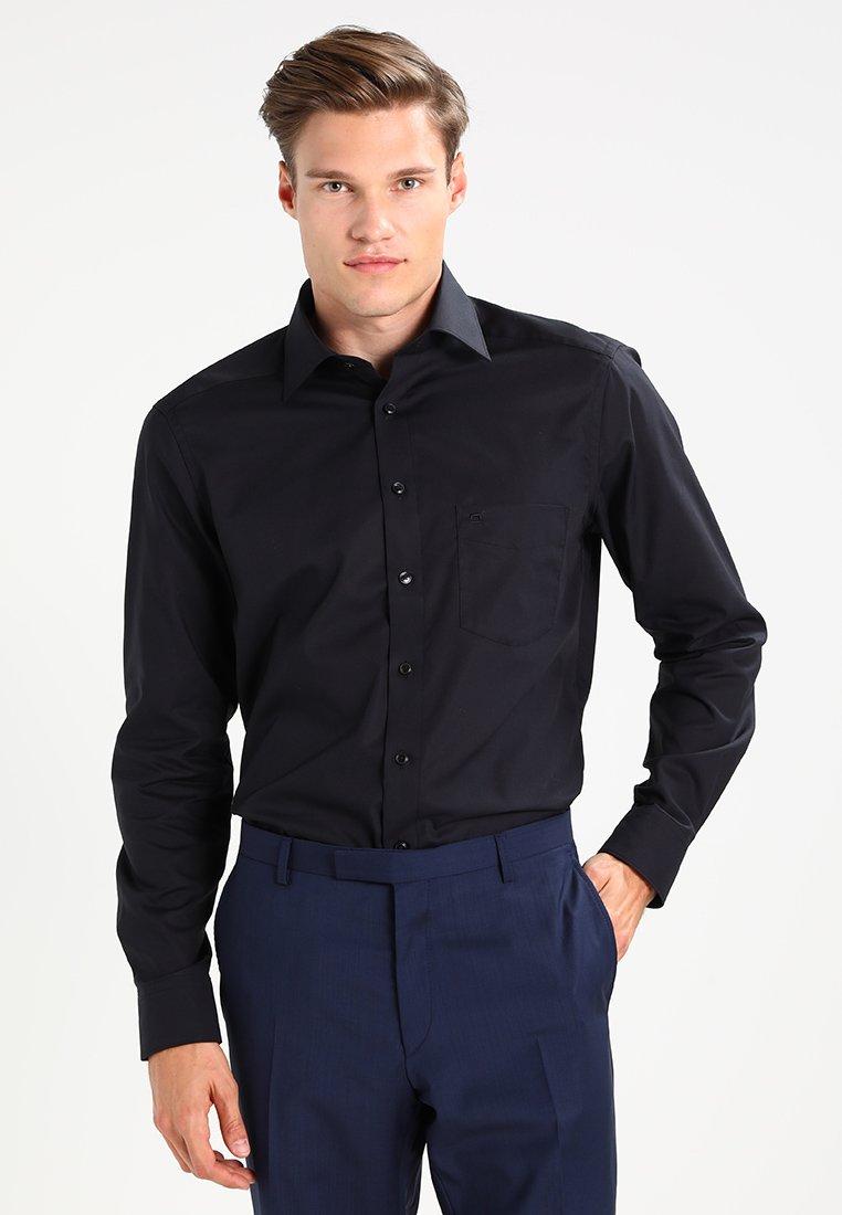 OLYMP - REGULAR FIT - Overhemd - schwarz