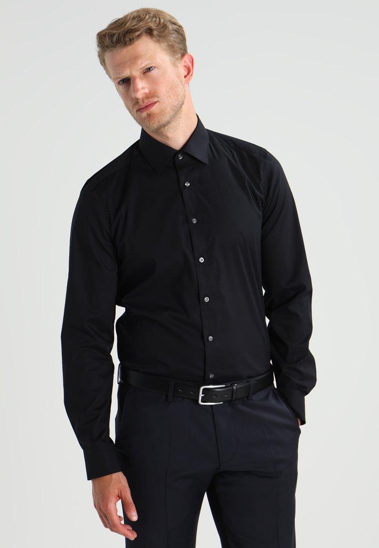 OLYMP Level Five - SLIM FIT - Businesshemd - schwarz
