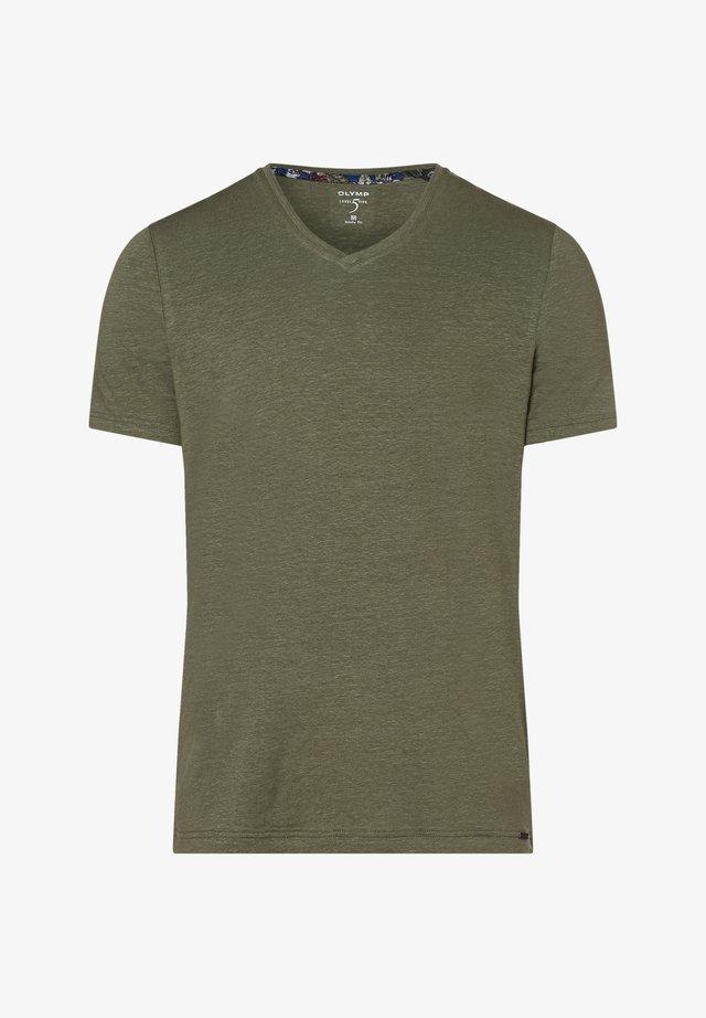 Basic T-shirt - schilf