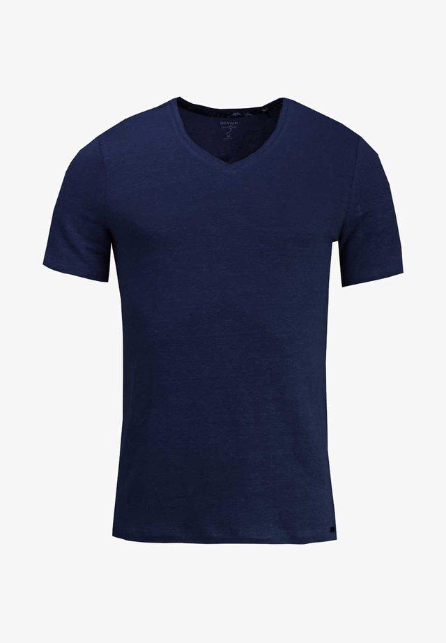 Basic T-shirt - dunkelblau