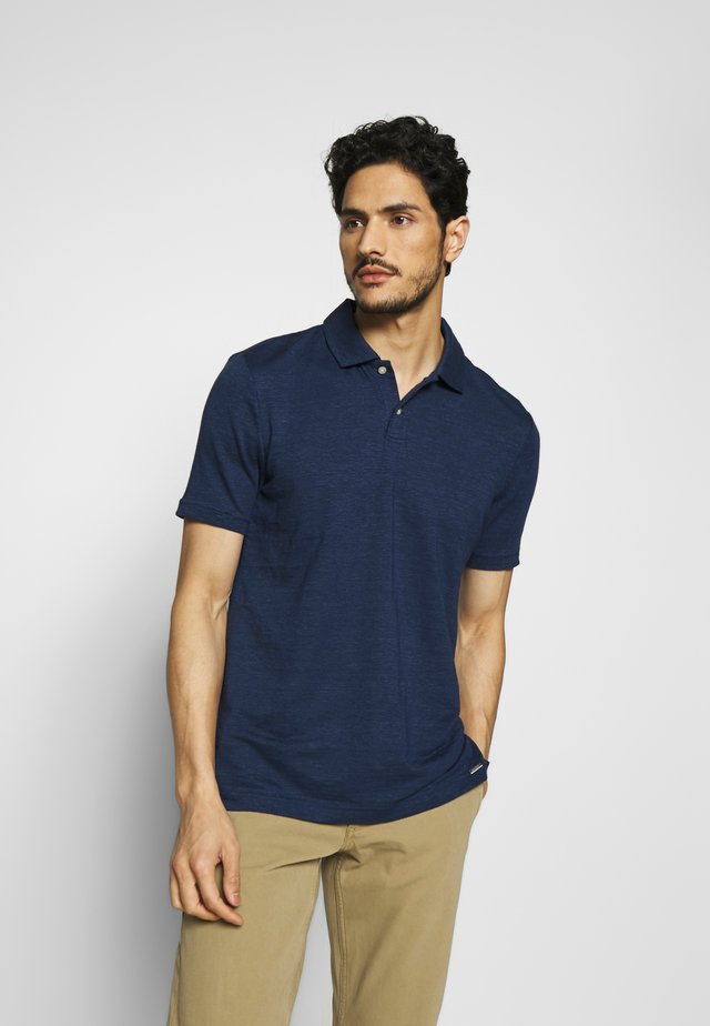 OLYMP LEVEL 5 - Polo shirt - rauchblau