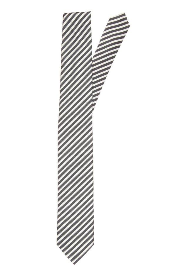 Tie - weiss/schwarz