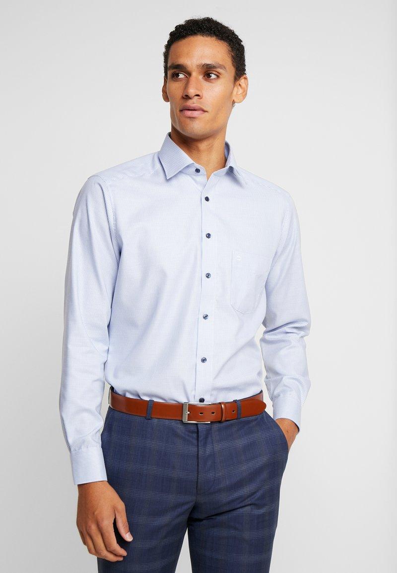 OLYMP - Formal shirt - light blue/white