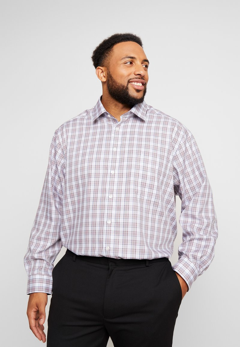 OLYMP - COMFORT FIT - Shirt - dunkelrot