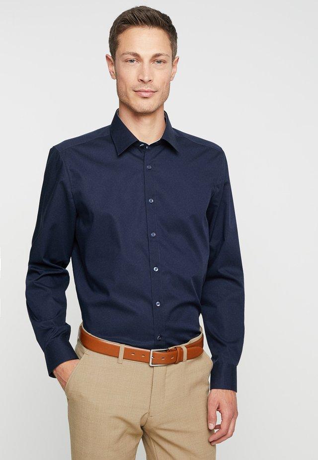 Zakelijk overhemd - kobalt
