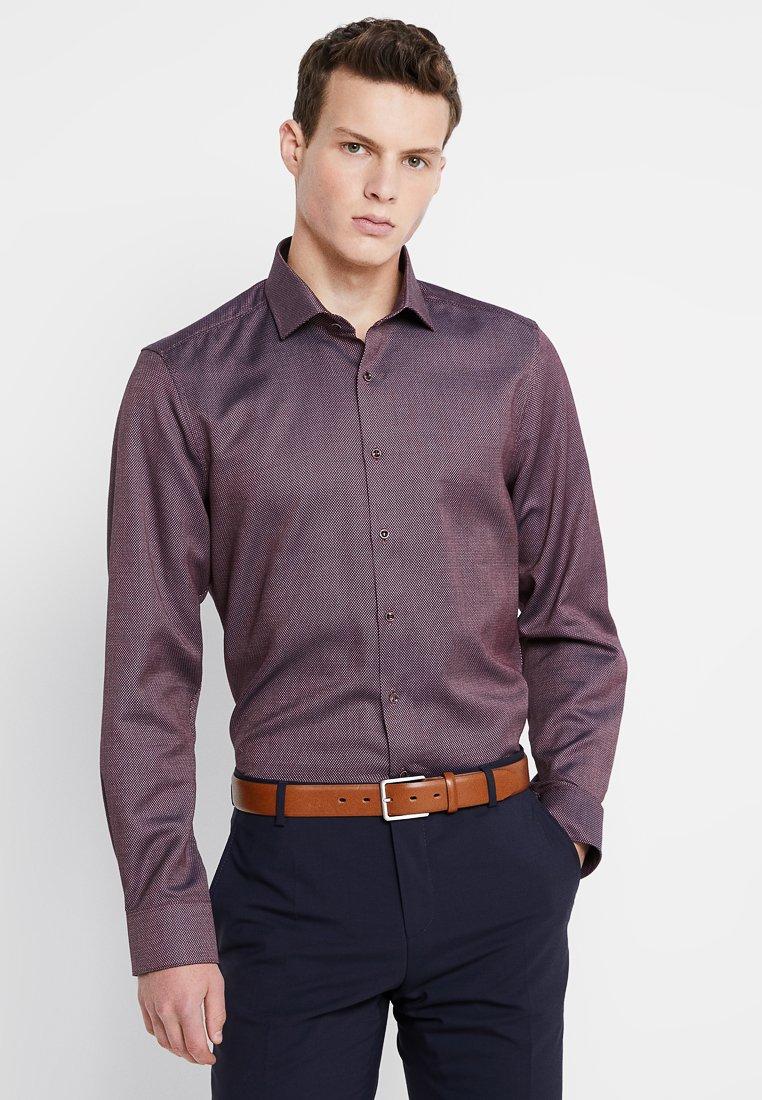 OLYMP - BODY FIT - Shirt - dunkelrot