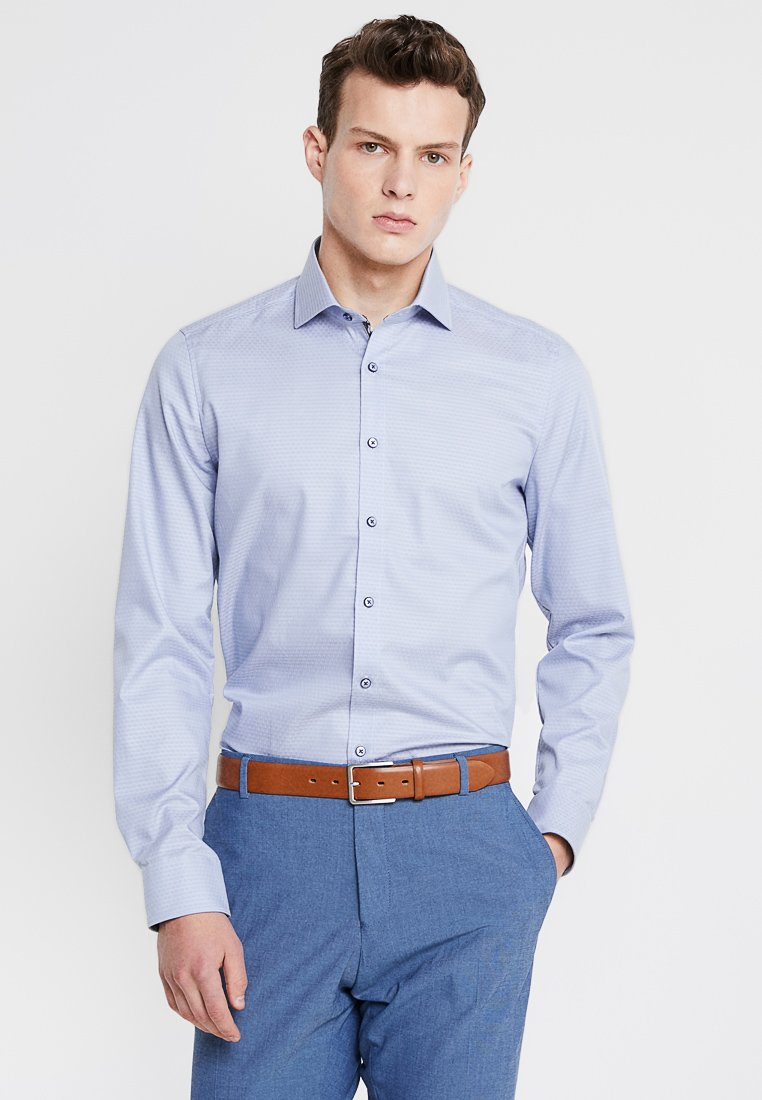 OLYMP - BODY FIT - Formal shirt - rauchblau