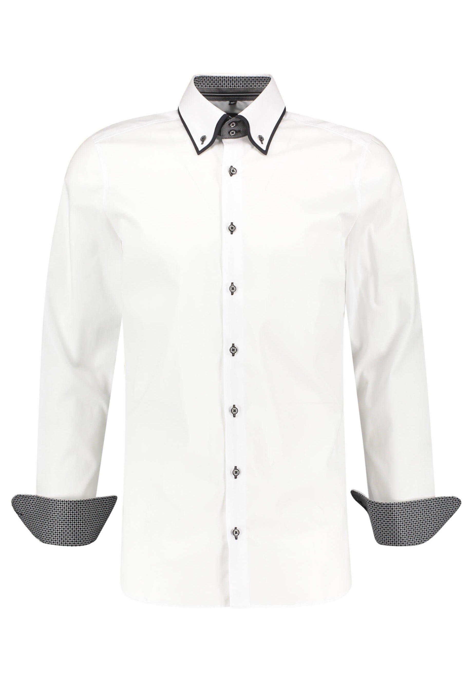 OLYMP Level Five Hemd white