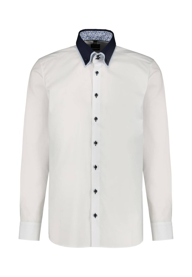 OLYMP LEVEL FIVE HERREN BUSINESHEMD BODY FIT LANGARM - Formal shirt - weiss (10)