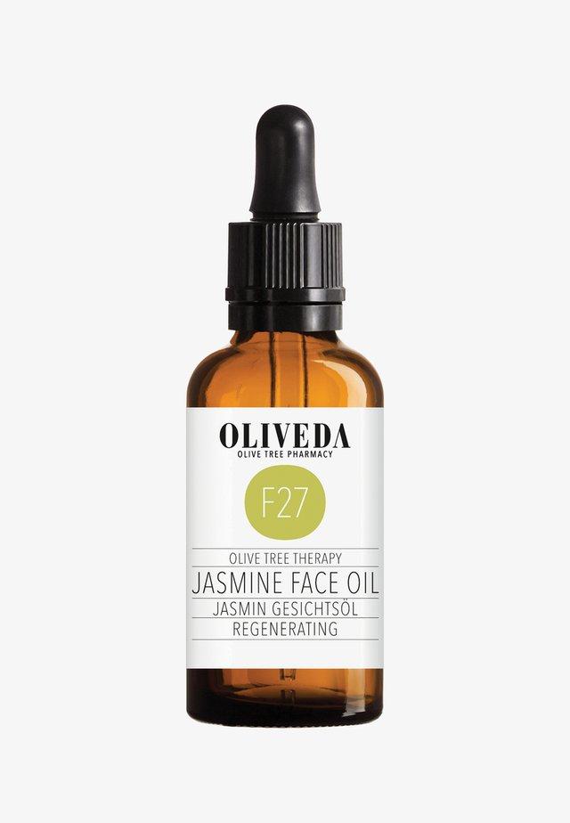 FACIAL OIL JASMIN - REGENERATING 50ML - Face oil - -