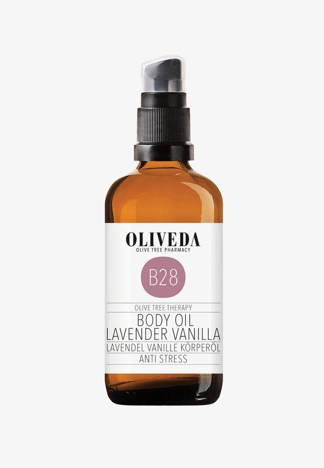 BODY OIL LAVENDER VANILLA - ANTI STRESS 100ML - Olio corpo - -