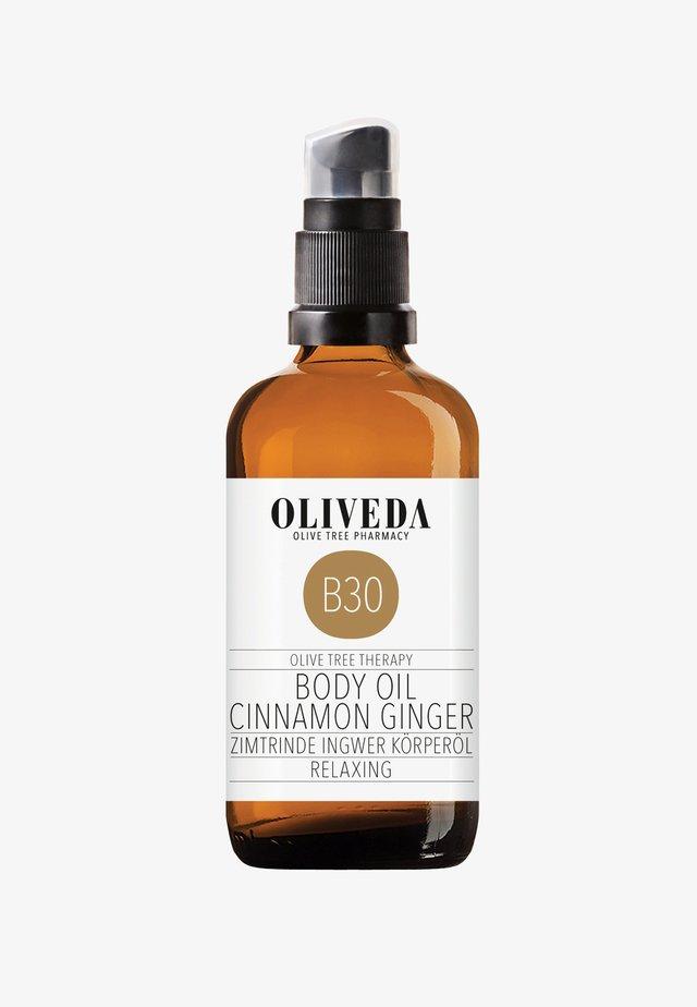 BODY OIL CINNAMON GINGER - RELAXING 100ML - Body oil - -