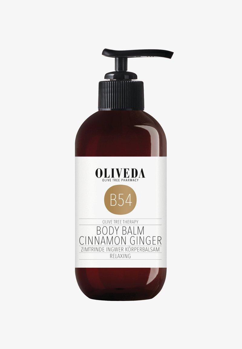 Oliveda - CINNAMONBARK GINGER CREME  - RELAXING 250ML - Moisturiser - -