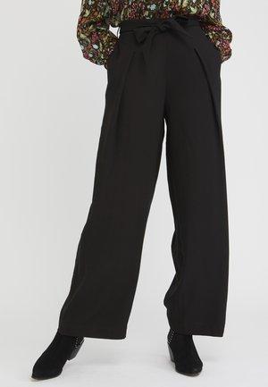 TIE  - Pantaloni - black